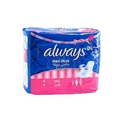 ALWAYS Serviette Cotton Maxi Thick x8