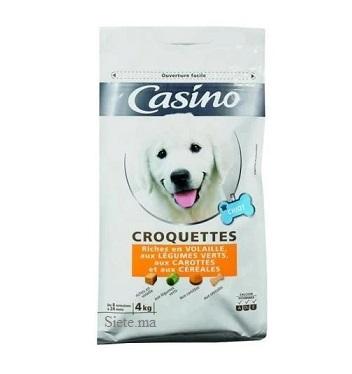 Casino Croquette a la volaile pour chiot 4kg