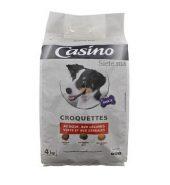 Casino Croquette au boeuf pour chien 4kg