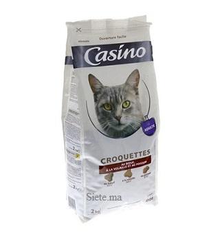 Casino Croquette viande pour chats 2kg