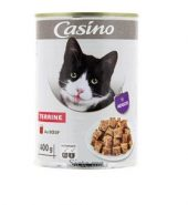 Casino Terrine au boeuf pour chat 400g