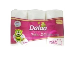 DALAA Papier toilette x12