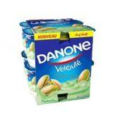 DANONE Pack Yaourt Brasse Veloute Pistache 110G X8