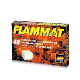 FLAMMAT ALLUME-FEU SANS ODEUR 48 CUBES