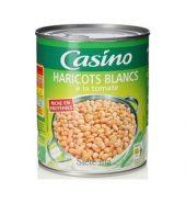 Casino Haricots blancs a la tomate 400g