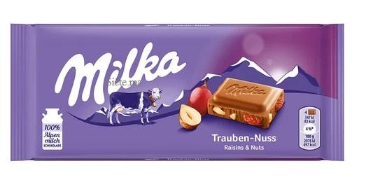 MILKA Tablette Chocolat