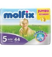 MOLFIX- Nr 5 Couches bébé Junior 40 unités