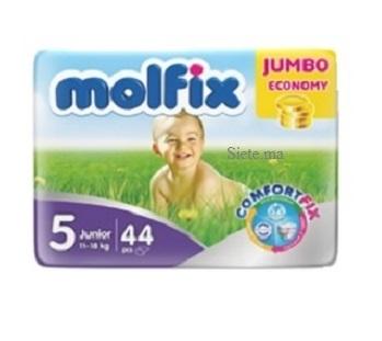 MOLFIX- Couches bébé Junior 40 unités