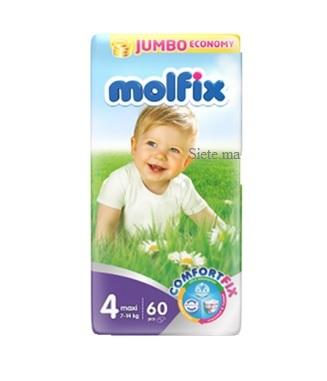 MOLFIX- Nr4 Couches bébé maxi 40 unités