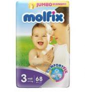 MOLFIX- NR 3 Couches bébé midi 68 unités