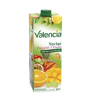 Valencia Nectar Panaché 7 fruits