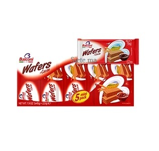 Wafers Gaufrette Cacao