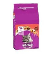 Whiskas Chat Croquettes Adulte Bœuf 1,75KG