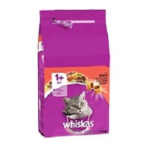 Whiskas Chat Croquettes Adulte Bœuf 1,75KG