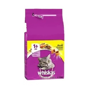 Whiskas Chat Croquettes Adulte Poulet 1,75KG