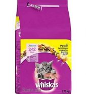 Whiskas Chat Croquettes Junior Poulet 1,75KG