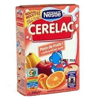 Nestle Cerelac fruits 250g