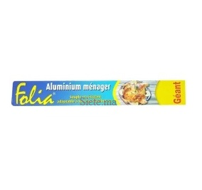 Folia -Papier aluminium 8m