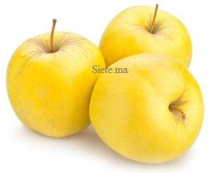POMME JAUNE (1Kg) تفاح أصفر
