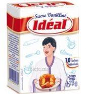 Idéal – Sucre Vanilliné Idéal 75g (10 sachets)