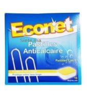 16 Pastilles Lave Linge Anticalcaire Econet