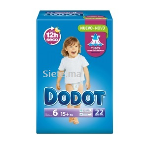 22 Couches Dodot T6 (17 - 28kg)