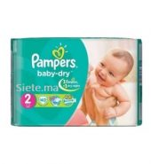 40 Couches Mini Pampers T2 (3 – 6kg)