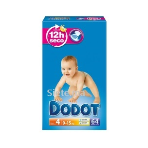 64 Couches Dodot T4 (8 - 14kg)