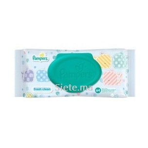 64 Lingettes Fresh Clean Pampers
