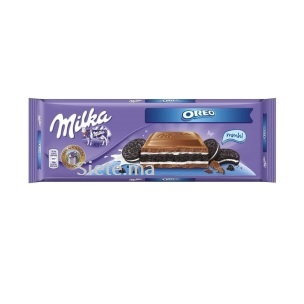 Chocolat au Lait Fourré au Biscuit Oreo Milka 300g