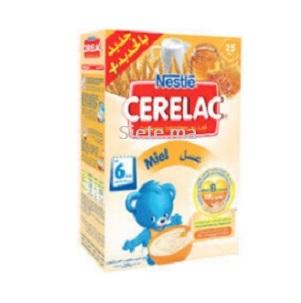 Céréales Infantiles Au Lait Et Miel Cérélac Nestlé 200g