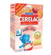 Céréales Infantiles Au Lait et Fruits