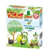 Dessert De Pomme Fruit Pack Gourde 4x80g VitaFruit 250g