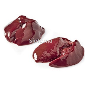 Foie de poulet (500g) كبد الدجاج