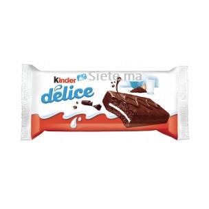 Génoises Cacao fourées au Lait Délice Kinder 390g
