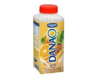 Jus De Fruits Au Lait Orange Ananas Danao 240 Ml