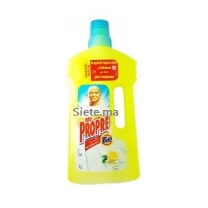 Nettoyant De Surfaces Citron Mr Propre 1l