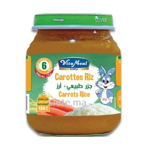 Petit Pot Carottes Et Riz