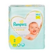 Premium Mimi 8 T2 3-8 Kg 80 Pieces Pampers