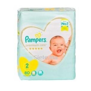 Premium Mimi 8 T2 3-8 Kg 80 Pieces Pampers