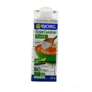 Bio Soja Cuisine Fluide Bio Bjorg 250ml