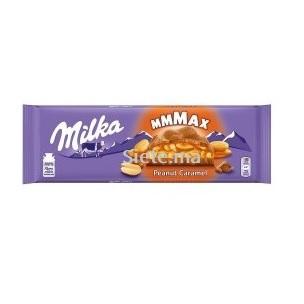 Tablete de Chocolate Mmmax Peanut Caramel Milka 300g