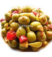 olives marinees au piments et coriandre (200g)