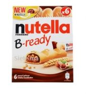 Nutella Ferrero B-Ready 6 Biscuits Croustillants 132g