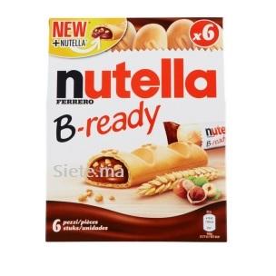 Nutella Ferrero B-Ready 6 Biscuits Croustillants 132g