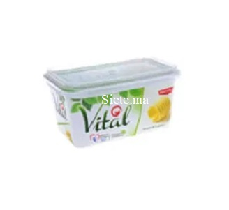 Margarine vital 225g tournesol ovale
